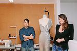 Stylists Rob Zangardi and Mariel Haenn