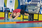 Wales Georgia Davies in action during the Woman's 50m Backstroke<br /> <br /> *This image must be credited to Ian Cook Sportingwales and can only be used in conjunction with this event only*<br /> <br /> 21st Commonwealth Games - Swimming -  Day 6 - 10\04\2018 - Gold Coast Optus Aquatic centre - Gold Coast City - Australia