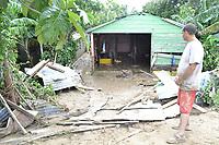 Inundaciones,  desbordamiento del Rio Nigua en la provincia de San Cristobal  por el paso del huracan Irenes, el cual dejo centenares de dannificados y numerosas casas destruidas<br /> Fotos: Carmen Su&aacute;rez/acento.com.do<br /> Fecha: 24/08/2011