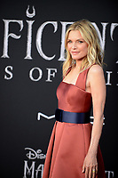 "LOS ANGELES, USA. September 30, 2019: Michelle Pfeiffer at the world premiere of ""Maleficent: Mistress of Evil"" at the El Capitan Theatre.<br /> Picture: Jessica Sherman/Featureflash"