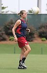 29 July 2006: Megan Rapinoe (USA). The United States Women's National Team trained at SAS Stadium in Cary, North Carolina, in preparation for an International Friendly match against Canada to be played on Sunday, July 30.