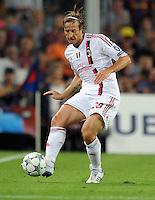 FUSSBALL   CHAMPIONS LEAGUE   SAISON 2011/2012   GRUPPE  H 13.09.2011 FC Barcelona - AC Mailand  Massimo Ambrosini (AC Mailand)