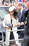 12.03.2018; London, England: MEGHAN MARKLE JOINS ROYALS FOR COMMONWEALTH SERVICE<br />