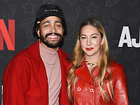 "10 January 2020 - Beverly Hills, California - Este Haim. Netflix's ""AJ And The Queen"" Season 1 Premiere at The Egyptian Theatre in Hollywood. Photo Credit: Billy Bennight/AdMedia"