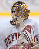 Danny King - Reigning national champions (2004 and 2005) University of Denver Pioneers practice on Friday morning, December 30, 2005 before hosting the Denver Cup at Magness Arena in Denver, CO.