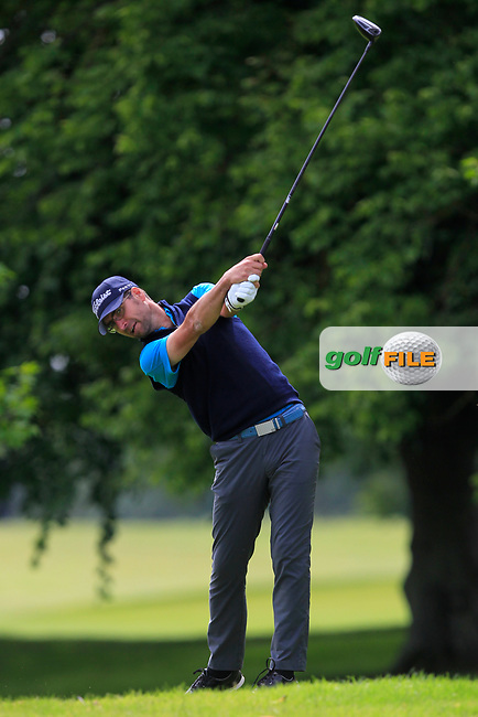 Craig Swinburn (Shirland GC) on the 2nd tee during Round 2 of the Titleist &amp; Footjoy PGA Professional Championship at Luttrellstown Castle Golf &amp; Country Club on Wednesday 14th June 2017.<br /> Photo: Golffile / Thos Caffrey.<br /> <br /> All photo usage must carry mandatory copyright credit     (&copy; Golffile | Thos Caffrey)
