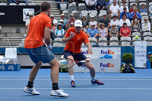 16.01.16 Sydney, Australia. Jamie Murray (GBR) and<br />