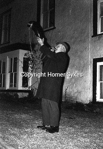 Bainbridge Horn Blower, Bainbridge Yorkshire Uk 1974<br />
