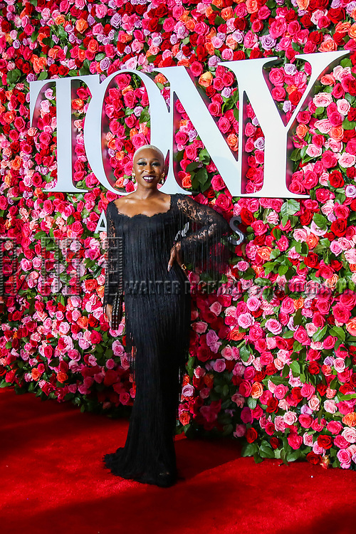 NEW YORK, NY - JUNE 10:  Cynthia Erivo attends the 72nd Annual Tony Awards at Radio City Music Hall on June 10, 2018 in New York City.  (Photo by Walter McBride/WireImage)
