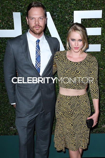 BEVERLY HILLS, CA, USA - OCTOBER 02: Jim Parrack, Leven Rambin arrive at Michael Kors Launch Of Claiborne Swanson Franks's 'Young Hollywood' Book held at a Private Residence on October 2, 2014 in Beverly Hills, California, United States. (Photo by Xavier Collin/Celebrity Monitor)