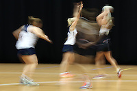 05.08.2015 Action during Silver Ferns training ahead of the 2015 Netball World Champs at All Phones Arena in Sydney, Australia. Mandatory Photo Credit ©Michael Bradley.