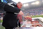 Fussball, 1. Bundesliga 2009/2010: FC Bayern Muenchen - Hertha BSC Berlin