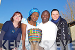 Pictured announcing a series of seminars taking place in Siamsa Tire, organised by Tralee International Resource Centre are, from left: Gillian Wharton Slattery (Chairperson International Resource Centre), Adebimpe Edu-Obadina, Samuel Kiwanuka and Anna Materka.