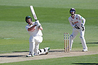 Luke Fletcher hits 6 runs for Notts during Essex CCC vs Nottinghamshire CCC, Specsavers County Championship Division 1 Cricket at The Cloudfm County Ground on 14th May 2019