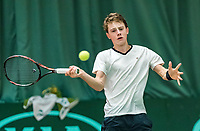 Wateringen, The Netherlands, March 16, 2018,  De Rhijenhof , NOJK 14/18 years, Nat. Junior Tennis Champ. Guy den Ouden (NED)<br />  Photo: www.tennisimages.com/Henk Koster