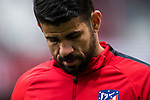 Diego Costa of Atletico de Madrid looks on prior to the La Liga 2017-18 match between Atletico de Madrid and Girona FC at Wanda Metropolitano on 20 January 2018 in Madrid, Spain. Photo by Diego Gonzalez / Power Sport Images