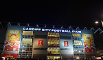 A general view outside the Cardiff City stadium, home stadium of Cardiff City FC for the FIFA World Cup Qualifying match at the Cardiff City Stadium, Cardiff. Picture date: November 12th, 2016. Pic Robin Parker/Sportimage
