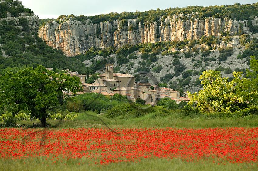 In Gard, Corconne is a beautiful village.