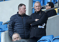Swansea City player loan manager Alan Curtis prior to kick off of the Sky Bet Championship match between Cardiff City and Rotherham United at the Cardiff City Stadium, Wales, UK. 18 February 2017