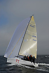 sailing Melges 24 at Santa Cruz