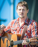 Sturgill Simpson performs at the 2014 Voodoo Music Experience in New Orleans, LA.