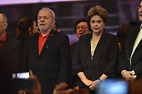 BRASÍLIA, DF, 01.06.2017 – DILMA-LULA – O ex-presidente Luiz Inácio Lula da Silva e a ex-presidente Dilma Rousseff durante o 6º Congresso Nacional do PT em Brasília, nesta quinta-feira, 01. (Foto: Ricardo Botelho/Brazil Photo Press)