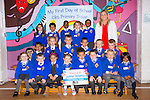 Miss O'Keeffe's Junior Infants.Pictured on their first day of school in CBS Primary School, Tralee on Tuesday