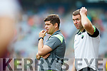 Kerry Manager Eamonn Fitzmaurice during his teams clash with Mayo in the All Ireland Semi Final Replay in Croke Park on Saturday.