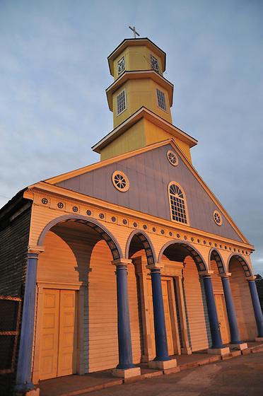 Iglesia de Chonchi / Chiloé (Chile).