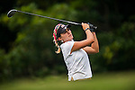 TAOYUAN, TAIWAN - OCTOBER 27:  Lexi Thompson of USA tees of on the 8th tee during the day three of the Sunrise LPGA Taiwan Championship at the Sunrise Golf Course on October 27, 2012 in Taoyuan, Taiwan.  Photo by Victor Fraile / The Power of Sport Images
