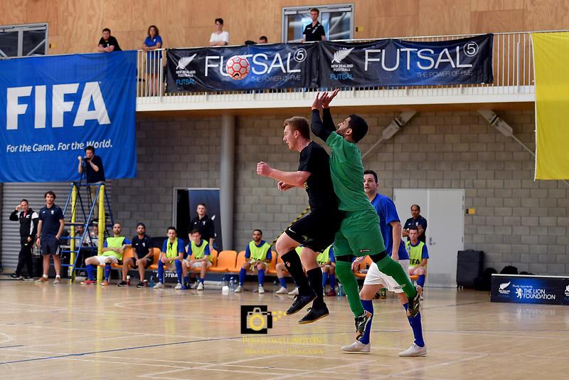 Futsal National League Final - Auckland v Southern at ASB Sports Centre, Wellington, New Zealand on Sunday 9 December 2018. <br /> Photo by Masanori Udagawa. <br /> www.photowellington.photoshelter.com