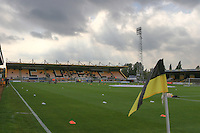 Cambs Glass Stadium before kick off for the Sky Bet League 2 match between Cambridge United and Grimsby Town at the R Costings Abbey Stadium, Cambridge, England on 15 October 2016. Photo by PRiME Media Images.