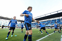 San Jose, CA - Saturday May 05, 2018: Florian Jungwirth during a Major League Soccer (MLS) match between the San Jose Earthquakes and the Portland Timbers at Avaya Stadium.