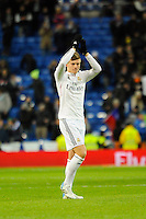 Real Madrid´s Toni Kroos during 2014-15 La Liga match between Real Madrid and Sevilla at Santiago Bernabeu stadium in Alcorcon, Madrid, Spain. February 04, 2015. (ALTERPHOTOS/Luis Fernandez) /NORTEphoto.com