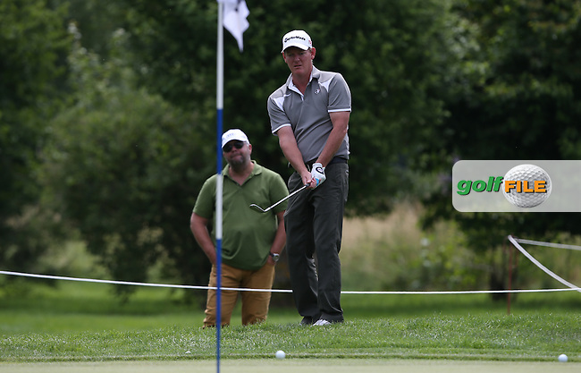 Wayward second shot leads to a bogey on the 15th for Daniel Gaunt (ENG) during Round Two of the 2015 BMW International Open at Golfclub Munchen Eichenried, Eichenried, Munich, Germany. 26/06/2015. Picture David Lloyd | www.golffile.ie