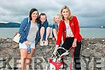 l-r  Deirdre Butt, Lira Butt, Lisette Butt and Aoife O'Brien. with murphy the dao at the Fenit Triathlon Club Tri Kingdom Come Triathlon on Saturday