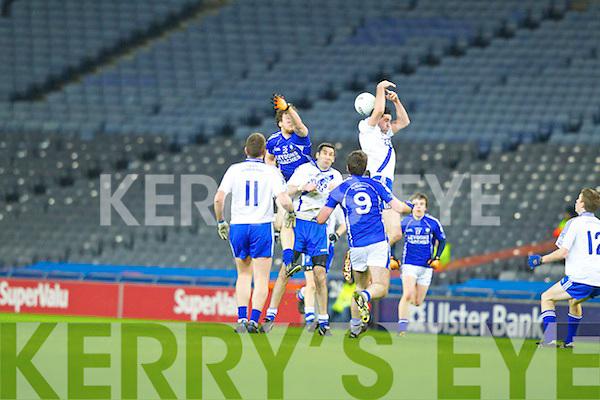 Bryan Sheehan Saint Mary's, Cahersiveen, v Saint Mary's, Swanlinbar in the All Ireland Junior Club Championship at Croke park on Saturday evening.