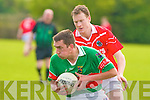 St Pats Liam Poff and Tuoisit's Michea?l Healy.