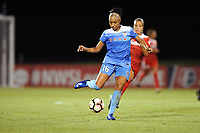Boyds, MD - Saturday August 26, 2017: Samantha Johnson during a regular season National Women's Soccer League (NWSL) match between the Washington Spirit and the Chicago Red Stars at Maureen Hendricks Field, Maryland SoccerPlex.