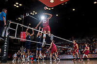 Stanford Volleyball M vs BYU, February 21, 2018