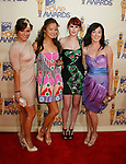 UNIVERSAL CITY, CA. - May 31: Actresses Briana Evigan, Jamie Chung, Rumer Willis and Margo Harshman arrive at the 2009 MTV Movie Awards held at the Gibson Amphitheatre on May 31, 2009 in Universal City, California.