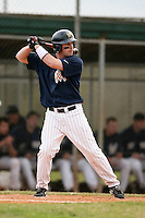 February 22, 2009:  Shortstop Colin Durborow (2) of West Virginia University during the Big East-Big Ten Challenge at Naimoli Complex in St. Petersburg, FL.  Photo by:  Mike Janes/Four Seam Images