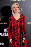 Ana Fernandez attends to 'Morir para contar' film premiere during the Madrid Premiere Week at Callao City Lights cinema in Madrid, Spain. November 13, 2018. (ALTERPHOTOS/A. Perez Meca) /NortePhoto.com