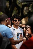 Joe Jonas Celebración de su 23 º cumpleaños.<br /> *************************************************<br /> Joe Jonas Celebrating his 23rd birthday and sharing about his child mentoring en West Hollywood, CA,August 15,2012<br /> Copyright/NortePhoto.com*
