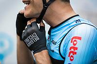 Belgian Cycling / Team Belgium<br /> <br /> Jasper Stuyven (BEL/Trek Segafredo) pre race<br /> <br /> 71th Halle Ingooigem 2018 (1.1)<br /> 1 Day Race: Halle &gt; Ingooigem (197.7km)