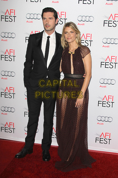 HOLLYWOOD, CA - NOVEMBER 5: Melvile Poupaud and Melanie Laurent at AFI FEST 2015 Opening Night Gala Premiere Of  By The Sea at TCL Chinese 6 Theatre on November 5, 2015 in Hollywood, California. <br /> CAP/MPI23<br /> &copy;MPI23/Capital Pictures