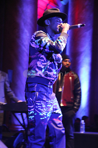 FEBRUARY 14, 2015 - NEW YORK, NY<br /> <br /> Fabolous performs at the NBA Players Association Party, February 14, 2015 at CAPITALE in New York City.<br /> <br /> <br /> <br /> Walik Goshorn/MediaPunch