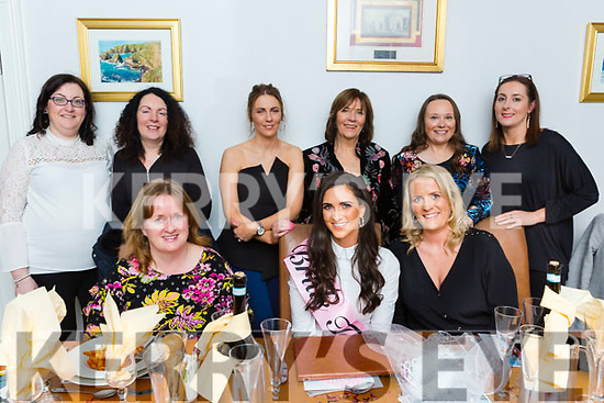Caroline Brick from Kilmoyley on her Hen Party in Bella Bia.<br /> Seated l-r, Margaret O&rsquo;Reilly, Caroline Brick and Gillian Bradley. Standing l-r, Evelyn Quill, Ann Moore, Jennifer Bailey, Noreen O&rsquo;Leary, Clare Murphy and Adrienne Heaslip.