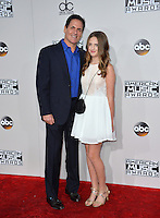 LOS ANGELES, CA. November 20, 2016: Businessman Mark Cuban &amp; daughter Alexis Sofia Cuban at the 2016 American Music Awards at the Microsoft Theatre, LA Live.<br /> Picture: Paul Smith/Featureflash/SilverHub 0208 004 5359/ 07711 972644 Editors@silverhubmedia.com
