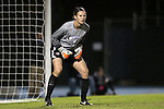 13 November 2015: Liberty's Nikki Belt. The University of North Carolina Tar Heels hosted the Liberty University Flames at Fetzer Field in Chapel Hill, NC in a 2015 NCAA Division I Women's Soccer game. UNC won the game 3-0.